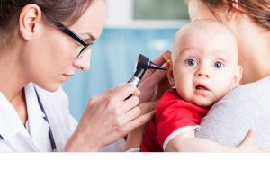 a child with glue ear- and a mother wondering about the treatment of glue ear